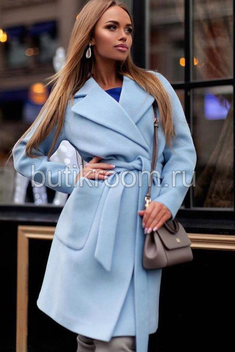 Короткое пальто женское осень 2019 без меха