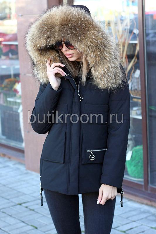 Длинная куртка на зиму