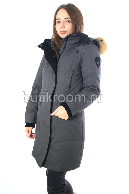 Брендовая зимняя куртка парка