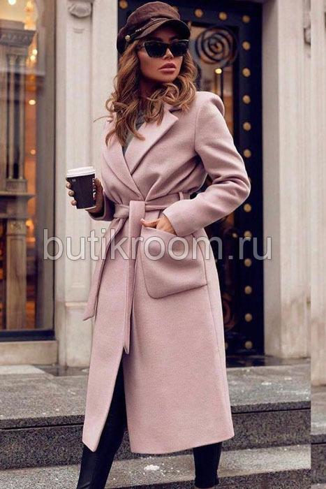 Модное пальто удлиненное на осень