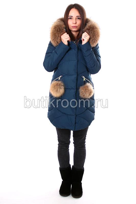 Молодежная модная парка женская