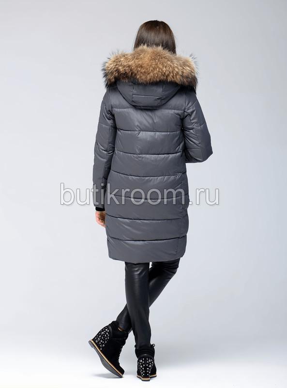 Куртка женская парка с мехом для холодной зимы