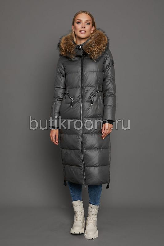 Модный пуховик с большими карманами в Москве