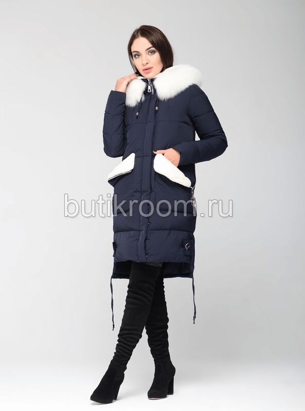 Длинная куртка парка на био-пуху